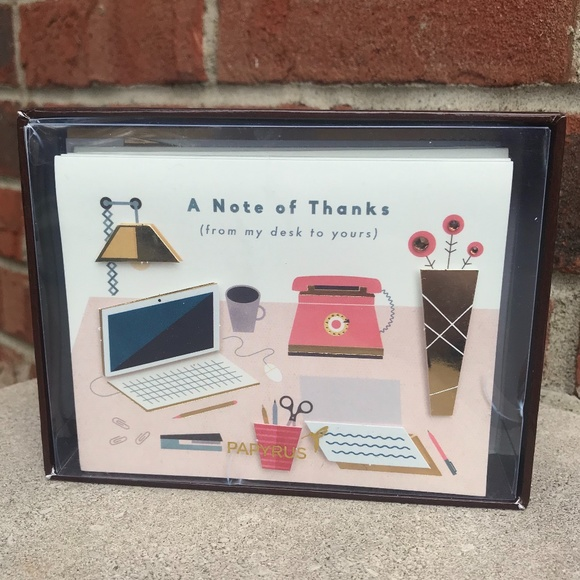 """Papyrus """"A Note of Thanks"""" Note Set"""